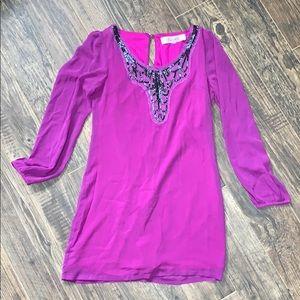 Dresses & Skirts - Purple sequined dress